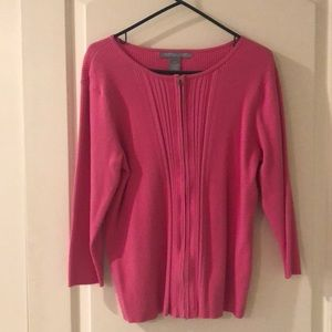 Pink cotton sweater 2x